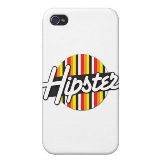 Hipster Rockabilly design Cover For iPhone 4