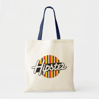 Hipster Rockabilly design Tote Bag