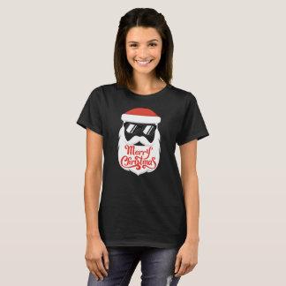 Hipster Santa T-Shirt