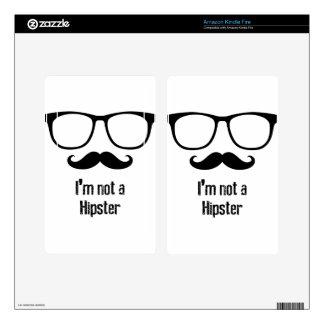 Hipster Kindle Fire Skins