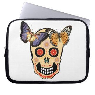 Hipster Skull Computer Sleeve