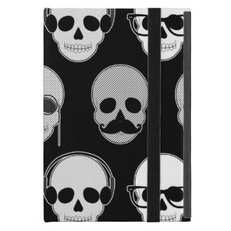 Hipster Skulls Pattern Case For iPad Mini