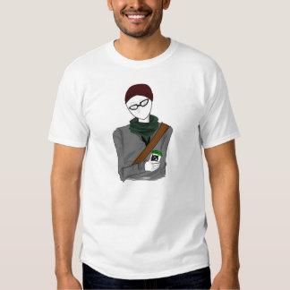 Hipster Slenderman T-Shirt