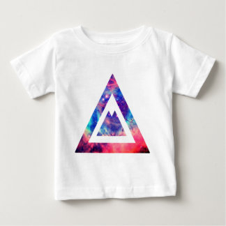 Hipster space triangle baby T-Shirt