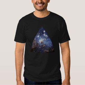 hipster space triangle t-shirts