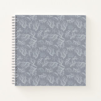 Hipster Style Coral Reef Notebook