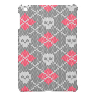 Hipster style skulls ornament case for the iPad mini
