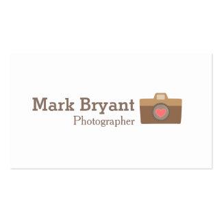 Hipster, Stylish, Camera, Wedding Photographer Business Card
