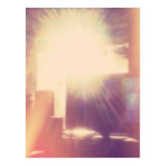 Hipster Sunlight Postcard