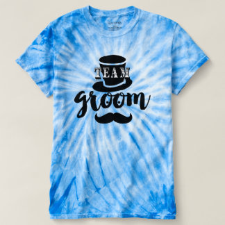 Hipster Team Groom Hand Lettered Top Hat Mustache