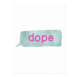 Hipster Teen Postcard