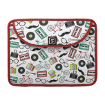 Hipster Themed Macbook Pro Sleeve