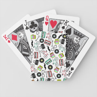 Hipster Themed Playing Cards