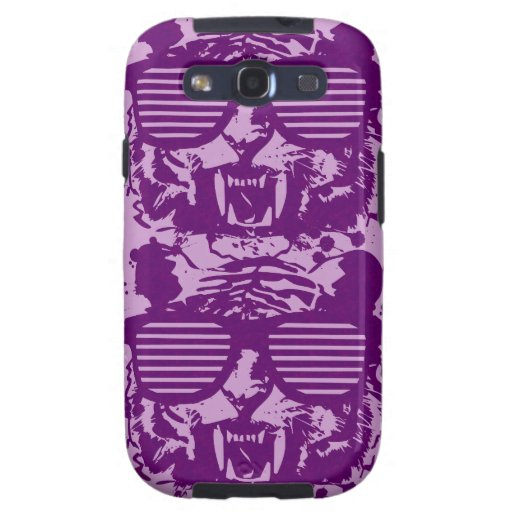 Hipster Tiger Galaxy SIII Cases