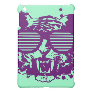 Hipster Tiger iPad Mini Cases