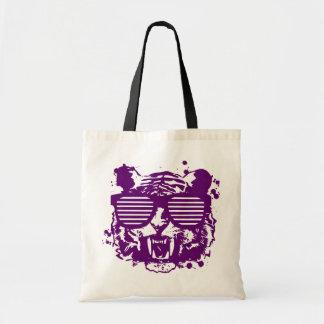 Hipster Tiger Tote Bag