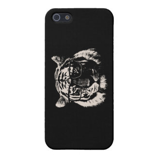 Hipster Tiger With Glasses Cover For iPhone SE/5/5s