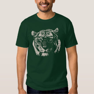 Hipster Tiger With Glasses T Shirts