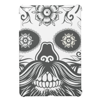 Hipster to sugar skull 3 iPad mini case