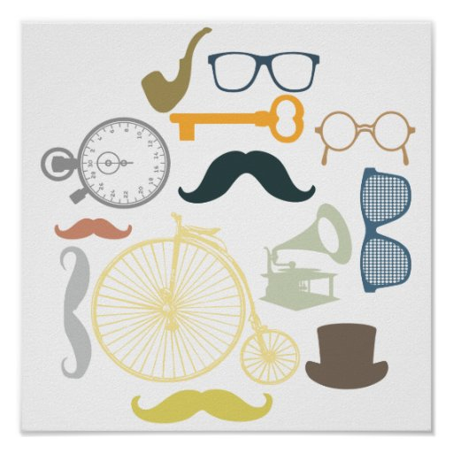 Hipster Toolkit Print
