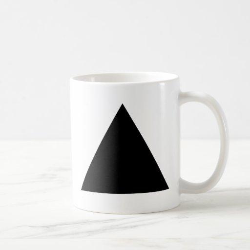 hipster triangle mug