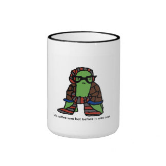 Hipster Turtle Coffee Mug