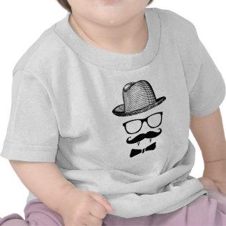 Hipster Vampire Gentleman T-shirts