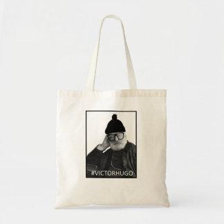 Hipster Victor Hugo Budget Tote Bag