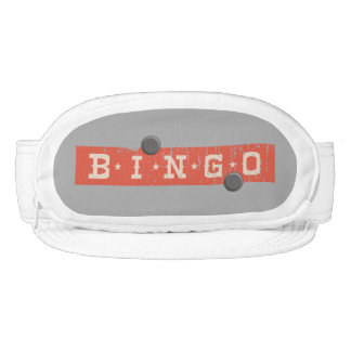hipster vintage red bingo card game board game visor
