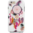 Hipster Watercolor Dreamcatcher Feathers Pattern Tough iPhone 6 Plus Case