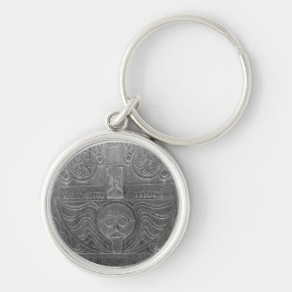 Hipster Winged Effigy Cemetery Key Ring Keychains