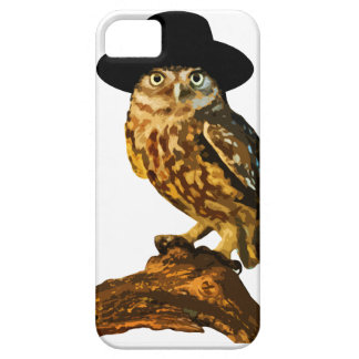 hipster wise owl sticker iPhone SE/5/5s case