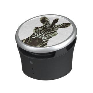 Hipster Zebra Bluetooth Speaker