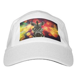 Hipster Zebra Style Headsweats Hat
