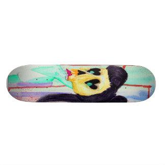 Hipster zombie skate board decks