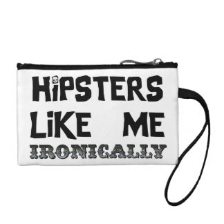 Hipsters Like Me Coin Purse