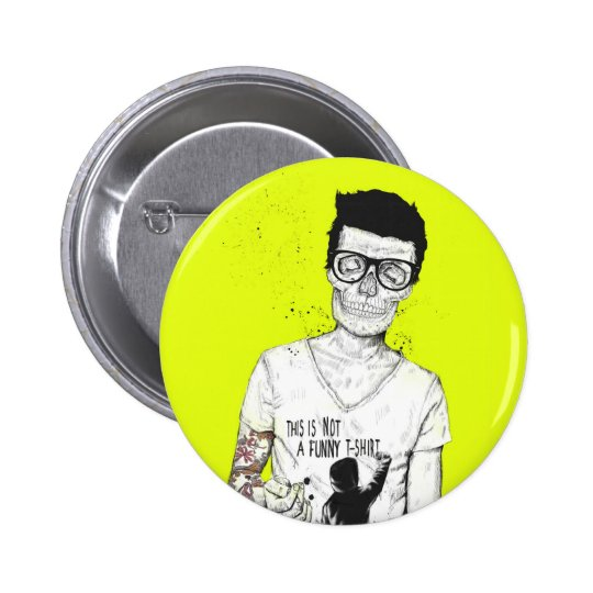 Hipsters not dead button