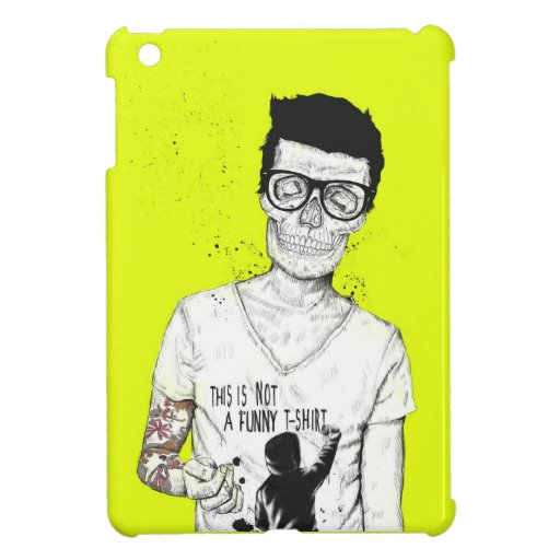 hipsters not dead iPad mini cases