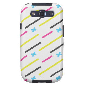 Hipsters pattern galaxy SIII cover