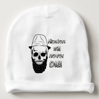 Hipsters will never die! baby beanie