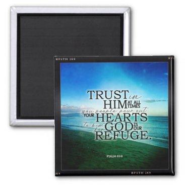 Hipstomatic Beach Bible Verse Magnet