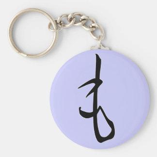 "Hiragana ""Mo"" Keychain"