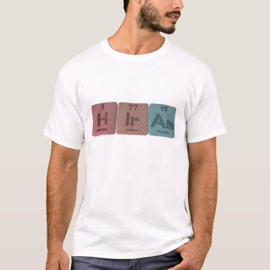 Hiram as Hydrogen Iridium Americium T-Shirt