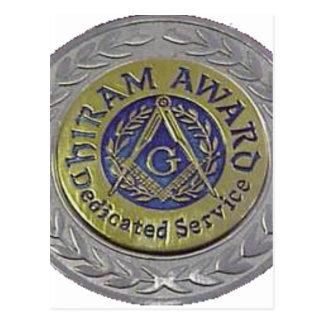 hiram_award.gif postcard