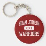 Hiram Johnson - guerreros - alto - Sacramento Llavero