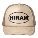 HIRAM Oval Trucker Hat