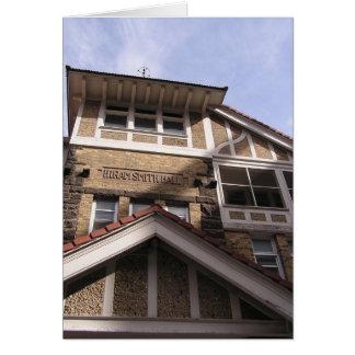 Hiram Smith Hall Card