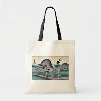 Hiratsuka por Ando, Hiroshige Ukiyoe Bolsas De Mano