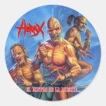HIRAX_El_Rostro_de_la_Muerte_Sticker Stickers
