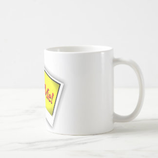 Hire me! coffee mug